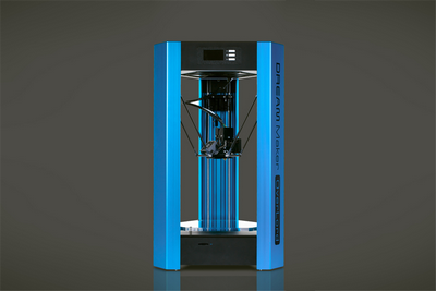OverLord 3D Printer - Classic Blue w/ Adapter