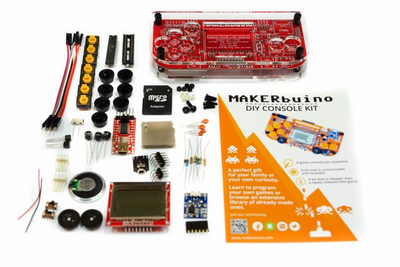 MAKERbuino Standard Kit with Tools
