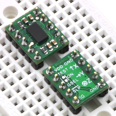 MMA7341L 3-Axis Accelerometer ±3/11g